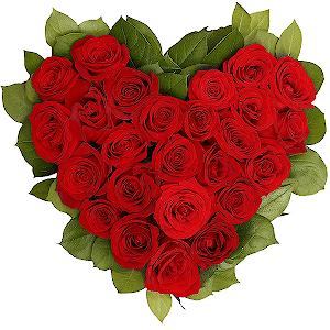 Цветы на 14 февраля - С днем Святого Валентина