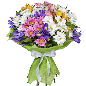 цветы ко дню матери Самой лучшей маме!